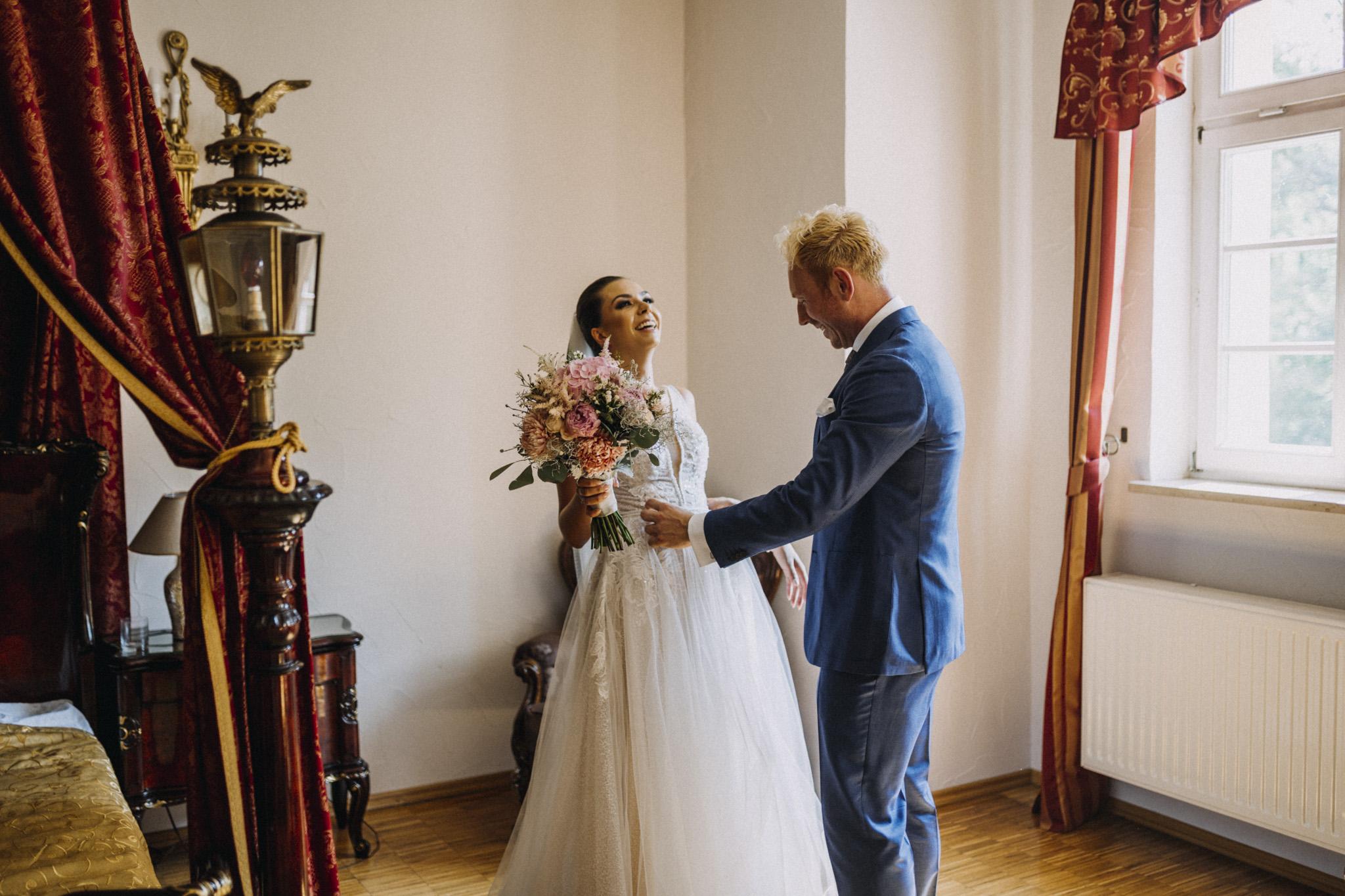 Ślub Basi i Stanisława Pałac Izbicko